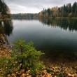 Autumnal lake — Stock Photo #1606103
