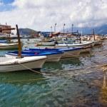 Boats near the pier — Stock Photo #1618454