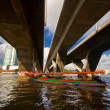Thai national boat - Foto Stock