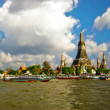 Buddhist temple on the river. — Stock Photo #1633426