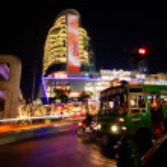 Night illumination of Bangkok — Stock Photo #1641896