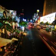 Night illumination of Bangkok — Stock Photo