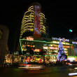 Night illumination of Bangkok — Stock Photo #1642681