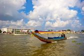 Thai national boat — Stock Photo