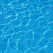 Blue water in the pool — Stock Photo