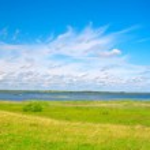 Panorama of beautiful green valley — Stock Photo #1617089