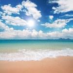 Beach and sea — Stock Photo #1617235