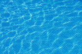 Niebieski wody w basenie — Zdjęcie stockowe