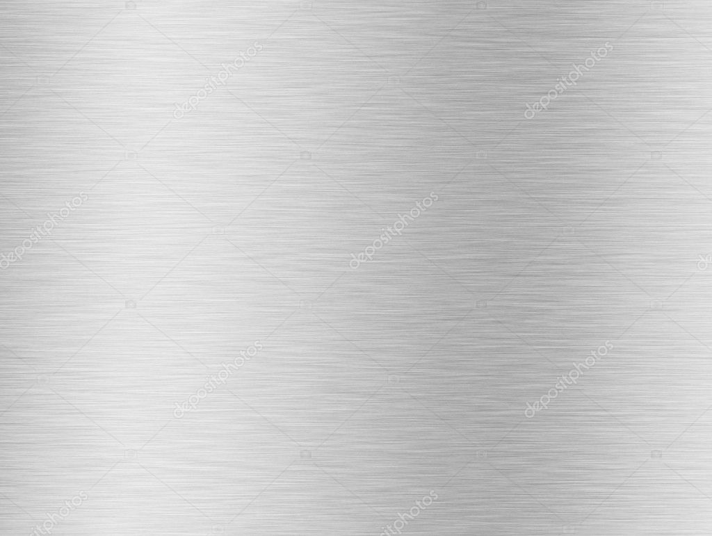 Brushed silver metallic background  Stock Photo #1617655