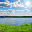 Beautiful lake — Stock Photo