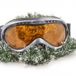 Ski glass — Stock Photo
