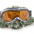 Ski glass - Stock Photo