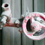 ������, ������: Red industrial valve