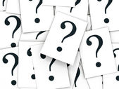 Question sign — Stock Photo