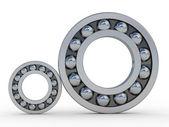 Metal bearings — Stock Photo