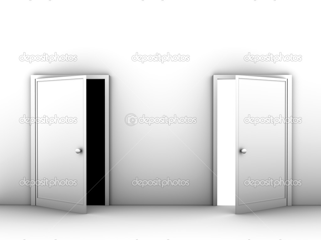 Two doors — Stock Photo #1600302