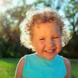 Beautiful curly girl — Stock Photo #1837895