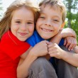 Brother and sister — Stock Photo #1838776