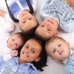 Happiness children — Stock Photo