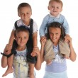Sister and brothers 4 — Stock Photo