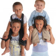 Sister and brothers 4 — Stock Photo #1846178