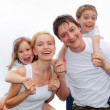 Happiness family — Stock Photo #2457191
