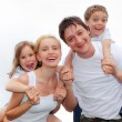 Foto Stock: Happiness family
