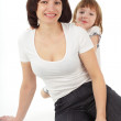 Mother with daughter — Stock Photo #2541809