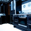 Stock Photo: Classical modern kitchen