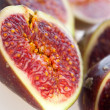 Fig isolated on white background — Stock Photo