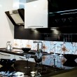 Classical modern kitchen - Stock Photo