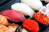 Assortment of Japanese Sushi — 图库照片