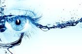 женский глаз — Стоковое фото
