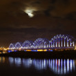 Moon bridge and river — Stock Photo #1593988