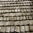 Wooden roof - Stock Photo