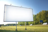 Billboard for advertisement — Stock Photo