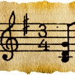 Music notation key — Stock Photo #1610087