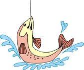 красивая рыба вектор — Cтоковый вектор