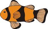 Beautiful Fish Vector — Stock Vector