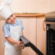 The small cook — Stock Photo