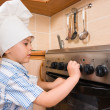 The small cook — Stock Photo #1596240