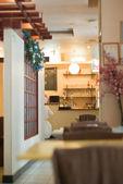 Интерьер ресторана — Стоковое фото