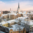 Stock Photo: Old city. Tallinn, Estonia