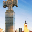 Royalty-Free Stock Photo: The Cross of Liberty. Tallinn, Estonia