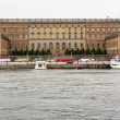 Stock Photo: Stockholm Royal palace