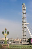 Millennium Wheel. London, England — Stock Photo