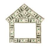 Dollar house — Stock Photo