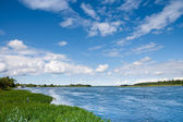 Narva river. Estonia — Stock Photo