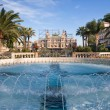 Fountain of Monte Carlo, Monaco - Stock Photo
