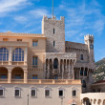 Palace in Monaco — Stock Photo